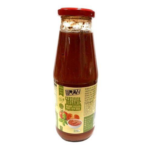 Organic Passata Puree Basil 680g