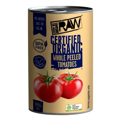 Whole Peeled Tomatoes 400g