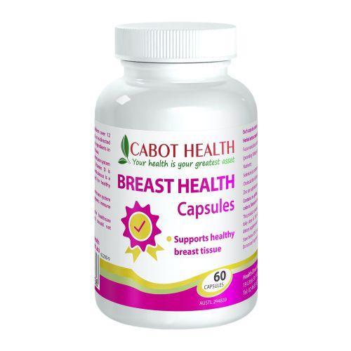 Breast Health Capsules - 60 Caps