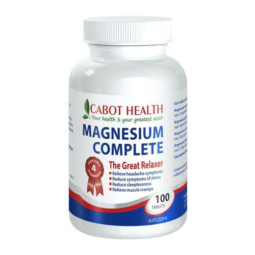 Magnesium Complete - 100 Tabs