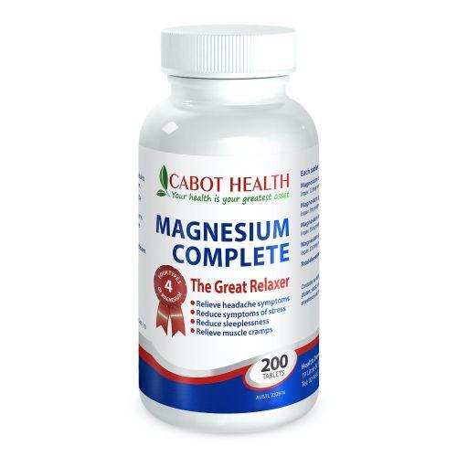 Magnesium Complete - 200 Tabs