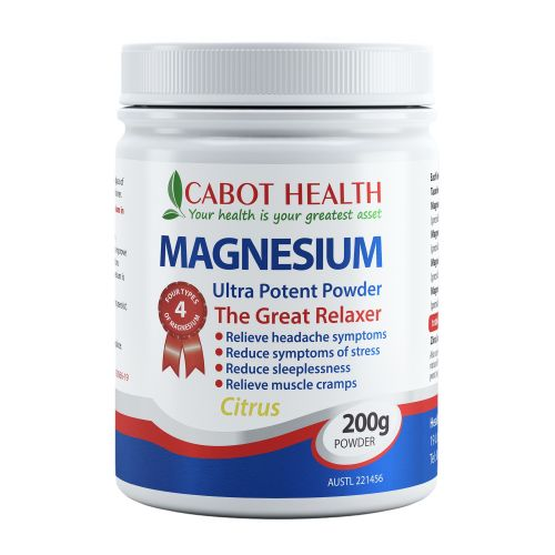 Magnesium Ultra Potent Powder Citrus - 200g
