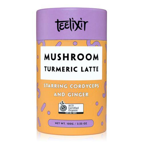 Mushroom Turmeric Latte with Cordyceps Extract Powder - 100g