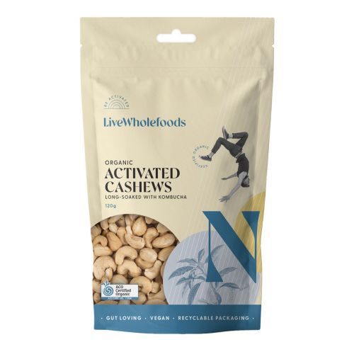 Organic Activated Cashews 120G