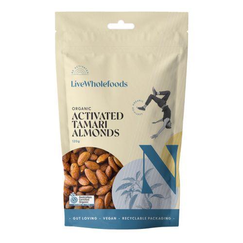 Organic Activated Tamari Almonds 120G