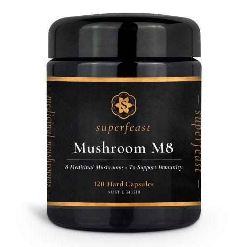 Mushroom M8 120 caps 120c