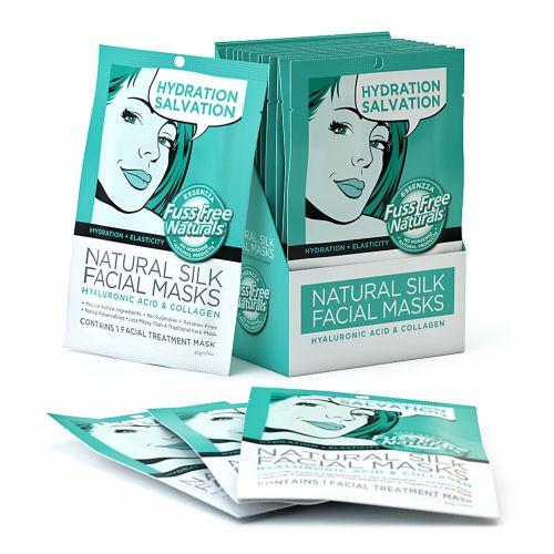 Hydration & Elasticity Face Mask Sheet - 12 Masks