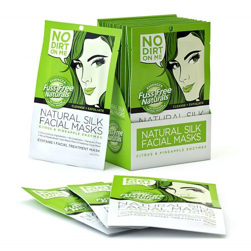 Cleanse & Exfoliate Face Mask Sheet - 12 Masks