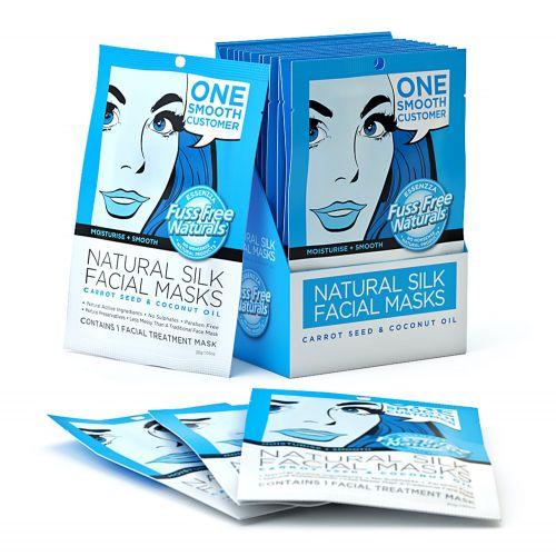 Moisturise & Smooth Face Mask Sheet - 12 Masks