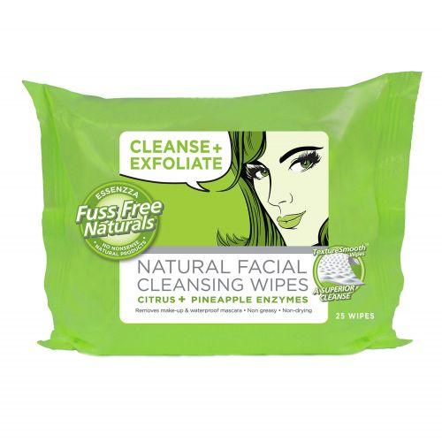 Cleanse & Exfoliate Wipes - 25 Wipes
