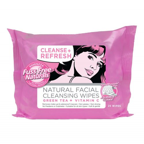 Cleanse & Refresh Wipes - 25 Wipes