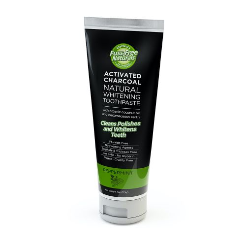 Activated Charcoal Peppermint Toothpaste - 113ml