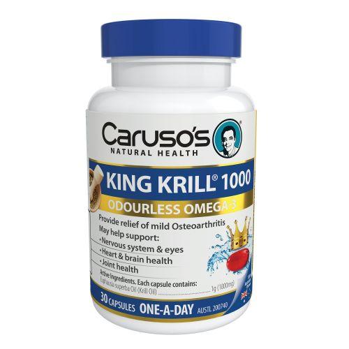 King Krill 1000mg 30 Capsules