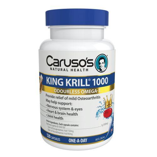 King Krill 1000mg 120 Capsules