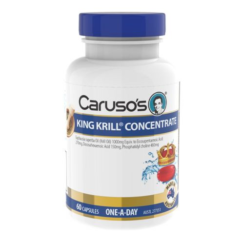 King Krill Concentrate Odourless 1000mg 60 Capsules