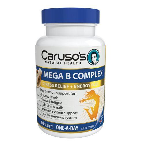 Mega B Complex 60 Tablets