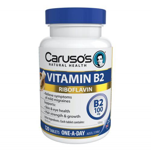 Vitamin B2 100mg 120T