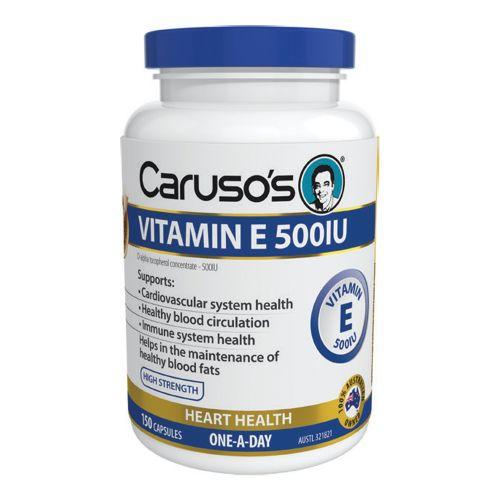 Vitamin E 500IU 150 Capsules
