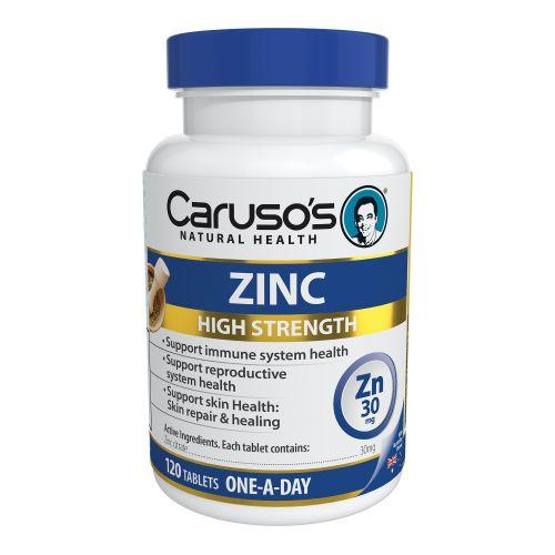 Zinc (High Strength) 120 Tablets