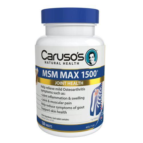 MSM Max 1500 120 Tablets