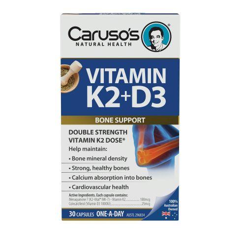 Vitamin K2 & D3 30 Tablets