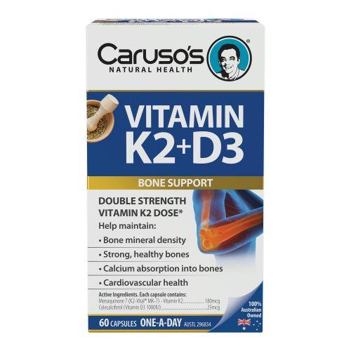 Vitamin K2 & D3 60 Tablets