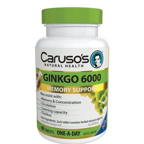 Ginkgo 6000 60 Capsules