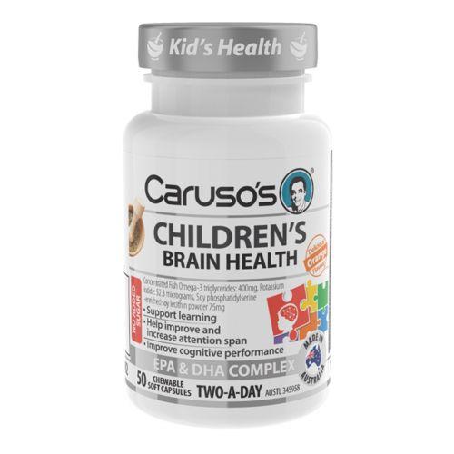 Childrens Brain Health 50 Capsules
