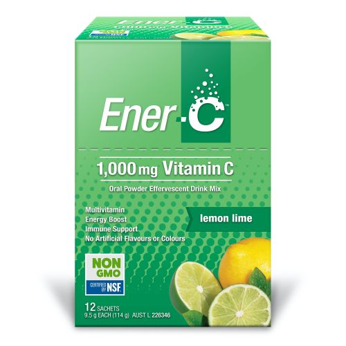 Lemon Lime Effervescent Multivitamin Drink - 12 Sachets