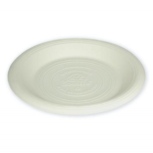 Cornstarch Main Plate (23cm) 20PC - Natural